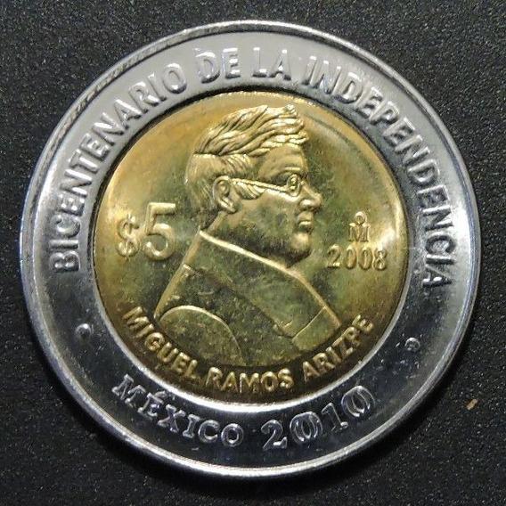 Mexico 5 Pesos - Miguel Ramos Arizpe - Bicentenario