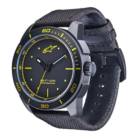 Relógio Pulso Tech 3h Nylon Alpinestars