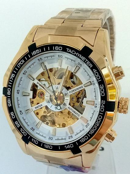 Relógio Forsining Automático Skeleton Promoção