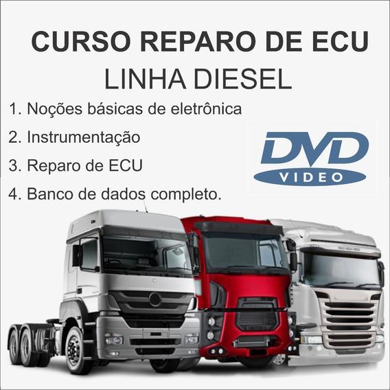 Curso Reparo Módulos Diesel Pesado - Em Dvds