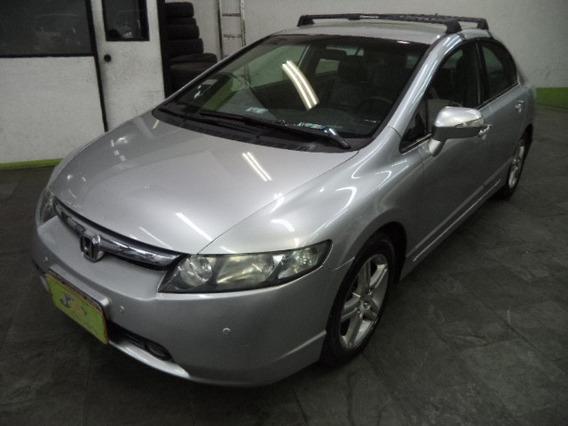 Honda Civic 1.8 Exs Flex Aut. 4p Completo 2011 Prata