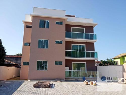 Costa Azul  - Cobertura Com Rgi, 02 Quartos, Por R$ 270 Mil - Rio Das Ostras - Co0001