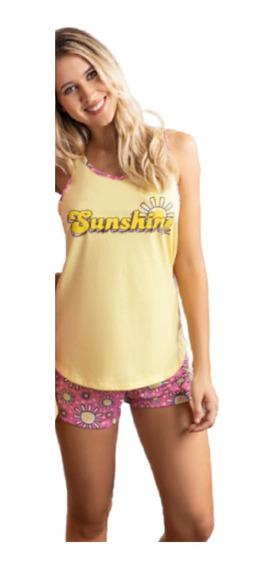 Pijama Musculosa Short Sunshine Promesse 10478