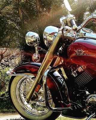 Vstar 650 Yamaha Drag Star Custom Estilo Harley Davidson
