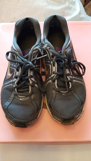 Zapatillas Nike Deportivas Gris Topo Talle 36