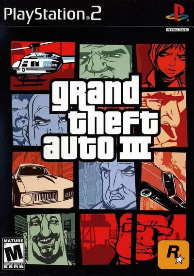 Jogo Grand Theft Auto 3 (usado) Ps2 Original