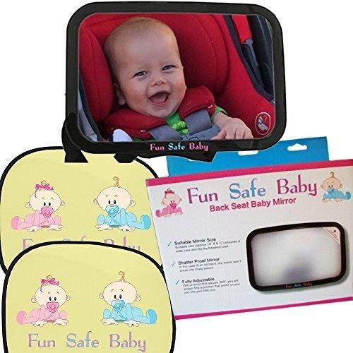 Imagen 1 de 7 de Divertido Seguro Bebe Seguridad Y Confort Paquete Posterior