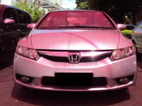 Honda Civic 1.8 Lxl Couro Flex Aut. 4p Ano 2010