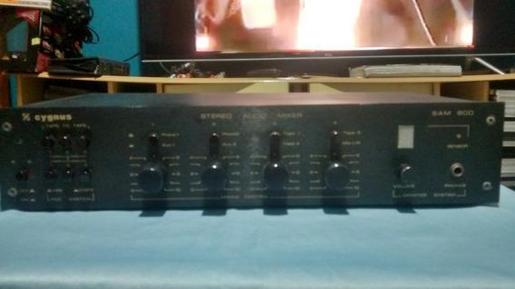 Mixer 8 Canais Profissional Cygnus Sam 800 Único Dono