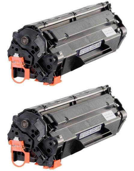 2pçs Toner Compatível Marca Premium Para Uso Em P1102w 1102w