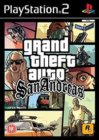 Playstation 2 Ps2 Gta San Andreas