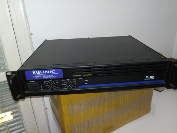 Amplificador De Potência Zx300 Unic