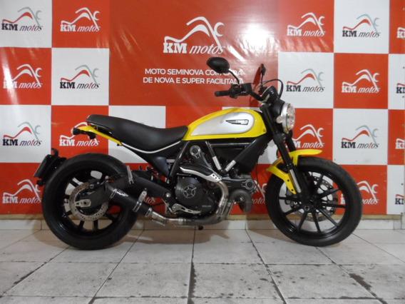Ducati Scrambler Icon 800 2016 Amarela