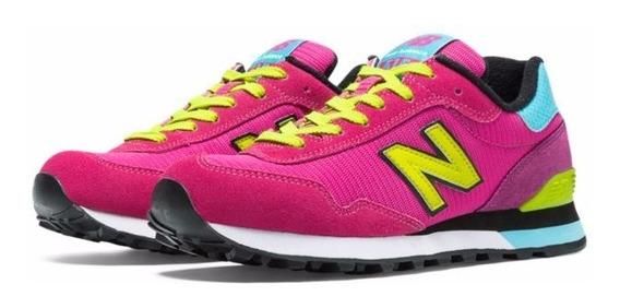 Tenis New Balance 515 Neon Pink
