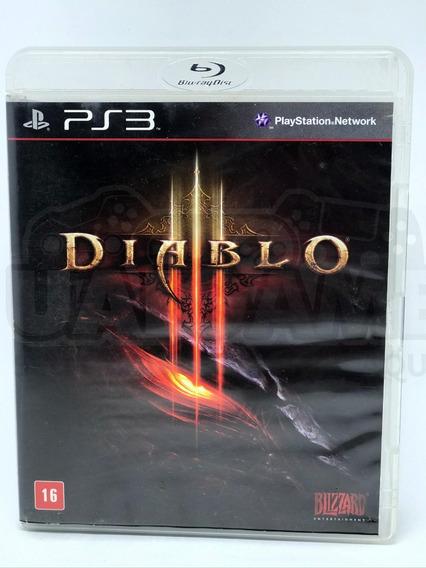 Diablo 3 Ps3 Mídia Física Pronta Entrega Ultima Unidade