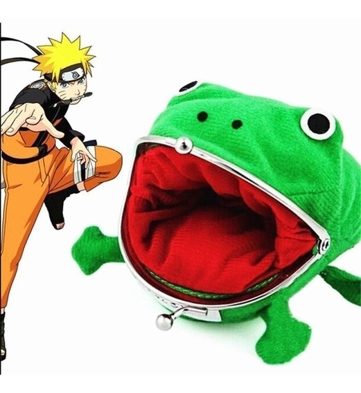 Monedero Rana Naruto Uzumaki Anime Manga