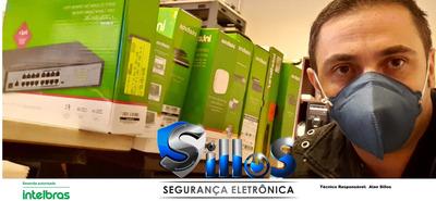 Instalador Câmeras De Segurança , Alarmes, Cerca Elétrica