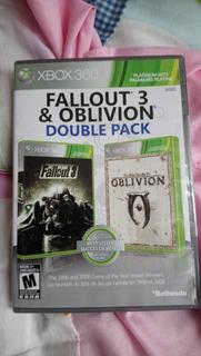 Dos Juegos Xbox 360 Fallout 3 Y Oblivion Iv