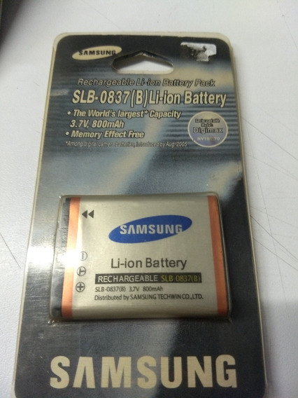 Bateria Samsung Slb-0837(b)