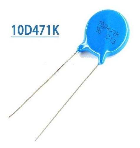 Varistor 470v 10d47 1k X3 Unidades