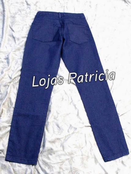 Calça Jeans Feminina Tamanho 38 Azul Escuro Usada 1 Vez