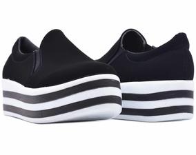 Zapato Mujer Urbanos Negros   Erez