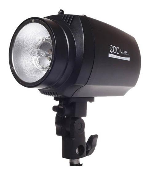 Flash De Estúdio Lumi 200 - 220v