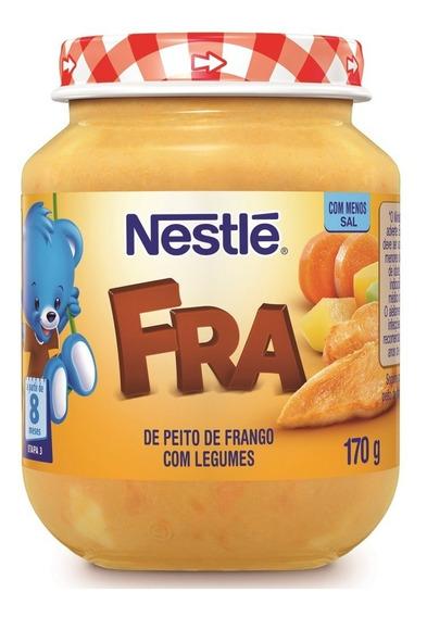 Papinha Nestlé Peito De Frango Com Legumes 170g