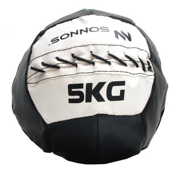 Mini Medicine Ball Pelota Medicinal Con Peso 5 Kg