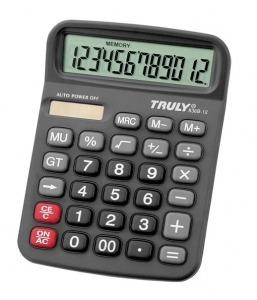 Calculadora De Mesa Truly 836b-12 - 12 Dígitos