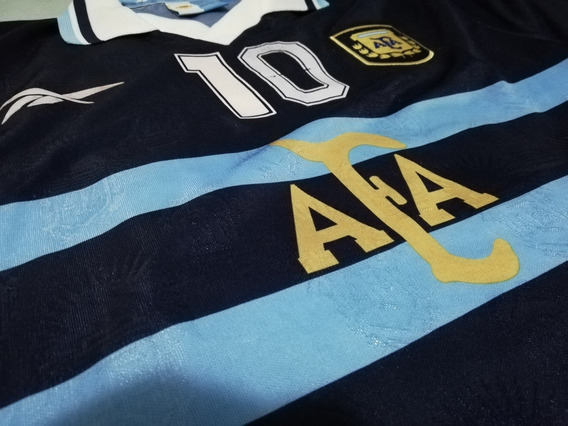 Camiseta Argentina Reebok Alternativa #10 Maradona
