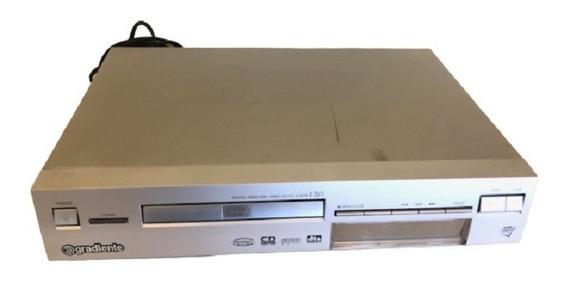 Dvd Player / Video Cd / Cd Player - Gradiente Modelo D20/3