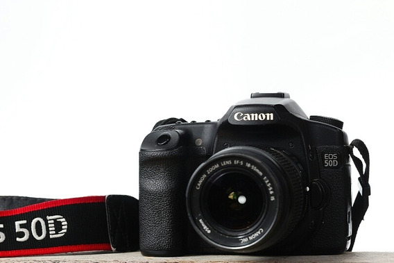 Canon 50d - Dslr Profissional - P/iniciantes Na Fotografia