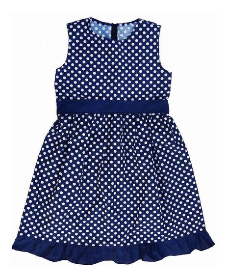 Vestido Lunares Nena Talles 12-14-16