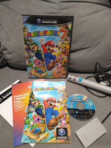 Mario Party 7 + Microfone Game Cube