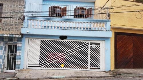 Sobrado Com 3 Dormitórios À Venda, 195 M² Por R$ 690.000,00 - Vila Oratório - São Paulo/sp - So0785