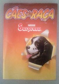 Álbum Surpresa Nestlé Cães De Raça - À Completar