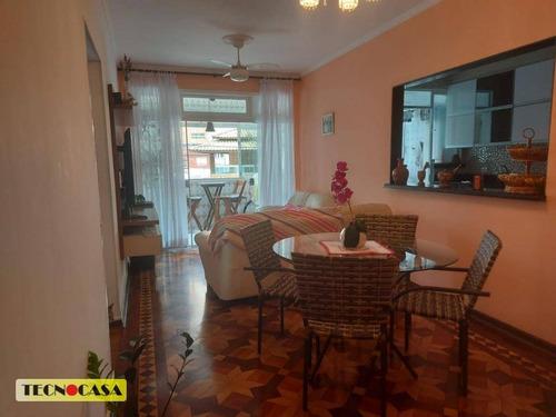 Excelente Apartamento Com 02 Dormitórios Para Venda Com  100 M² No Bairro Cidade Ocian Em  Praia Grande/sp. - Ap6663