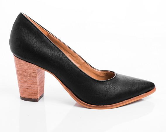 Zapatos Mujer Stilettos De Vestir Taco Foliado