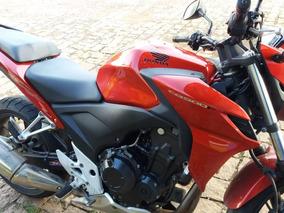 Honda Cb500 F 2014 Vermelho