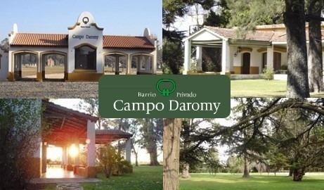 Lote En Campo Daromy