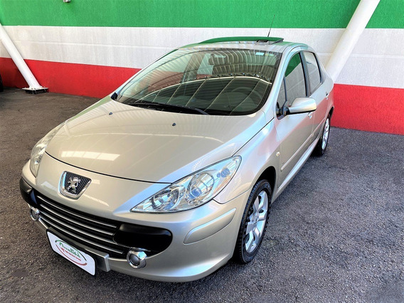 307 Sedan Presence 1.6 Flex, Completo + Teto Solar. Lindo!