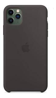 Funda Silicona Original iPhone 11 Pro Negra +factura Origin