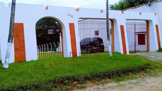 Chácara Com 10 Dormitórios À Venda, 7000 M² Por R$ 2.800.000,00 - Chácaras De Recreiro Represa - Nova Odessa/sp - Ch0435