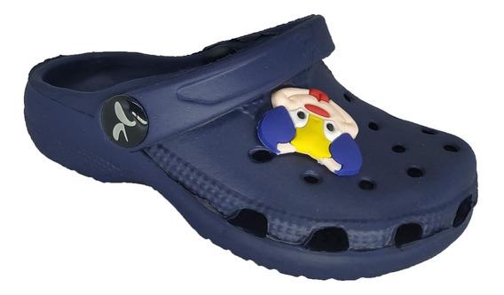 Chinelo Crocs Babuch Baby Infantil Kemo B10/02