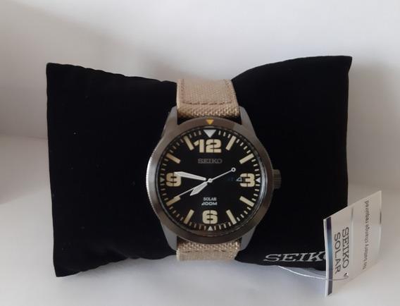 Relógio Seiko Solar - Sne331 - Original