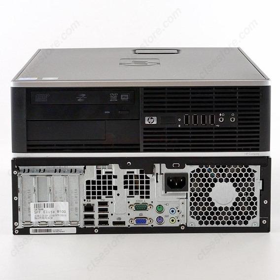 Cpu Hp Elite 8100 Proc. Core I5 4gb Ram 500gb Hd Semi-novo