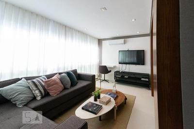 Apartamento No 25º Andar Mobiliado Com 1 Dormitório E 1 Garagem - Id: 892935964 - 235964