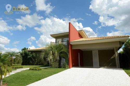 Imagem 1 de 30 de Casa Com 3 Dormitórios À Venda, 350 M² Por R$ 2.600.000,00 - Condomínio Fazenda Alvorada - Porto Feliz/sp - Ca1535