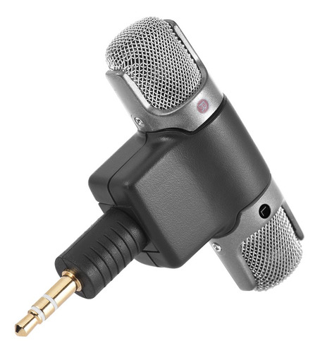 Imagem 1 de 6 de Microfone Estéreo Externo Microfone Com 3,5 Mm Para Mini Us